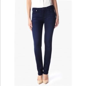 7 for All Mankind High Waist Straight Jeans 26